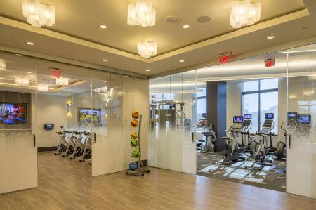 Cutting Edge Fitness Center | Apartments Homes for rent in Arlington, VA | Parc Meridian at Eisenhower Station