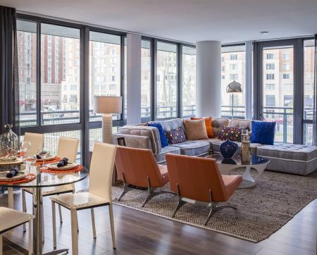 Spacious Living Room | Apartments in Arlington, VA | Parc Meridian at Eisenhower Station