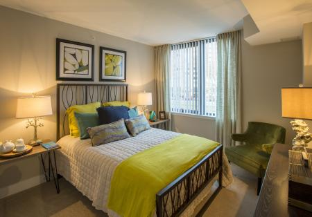 Luxurious Master Bedroom | Apartment in Arlington, VA | Parc Meridian at Eisenhower Station