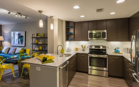 Spacious Kitchen | Apartments for rent in Arlington, VA | Parc Meridian at Eisenhower Station